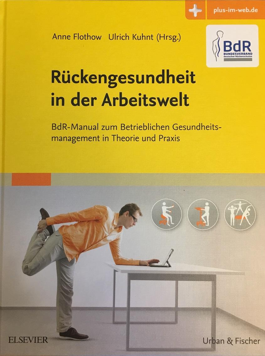 """Buchveröffentlichung: """"Rückengesundheit in der Arbeitswelt"""""""
